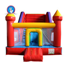 Inflatable bouncing castle stair slide toys