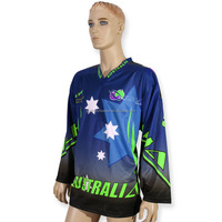 2015 New Custom Made Fully Dye Sublimation Ice Hockey Jersey