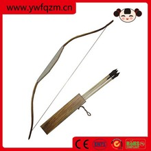 FQ kids toy wooden archery bow and arrow