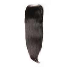 Factory wholesale price natural color straight hair malaysian lace closure