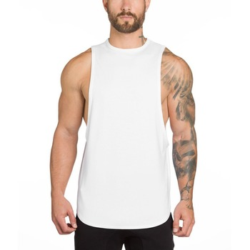 Tank top men summer Gym Singlet Wholesale Mens Tank Top/wholesale running vest stringer singlet
