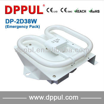 2016 Newest Rechargeable Emergency Ceiling Design DP2D38WEP Battery pack