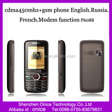 2.4 inch gsm cdma 450mhz mobile phone HK658 with English,Russia, French, Other language as required