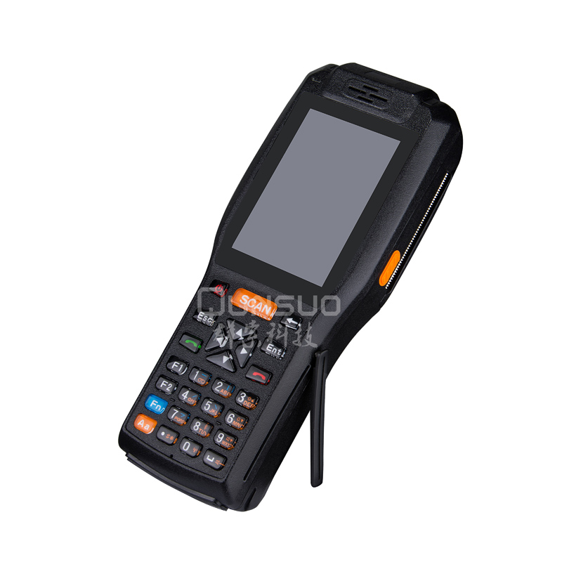 Warehouse management android barcode scanner mobile industrial data collector printer