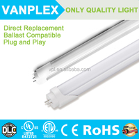 Hot 4ft led tube UL DLC 18w work with Electronic&magnetic Ballast new led tube light tube8 chinese sex led tube 8 china