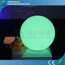 GLACS led music dancing furniture color changing rechargeable waterproof led christmas ball light