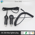 Marine car auto car cigarette lighter plug with on off dual switch