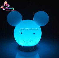 led bluetooth speaker with adapter /power supply flashing light used mobile phone control