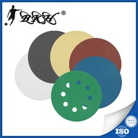 aluminum oxide velcro backed sanding discs 125mm for metal