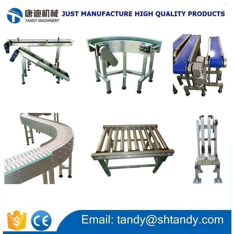 90 degree 180 degree turning belt conveyor system / rubber belt conveying