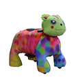 70 styles kids plush animal ride on toys with wheels for mall