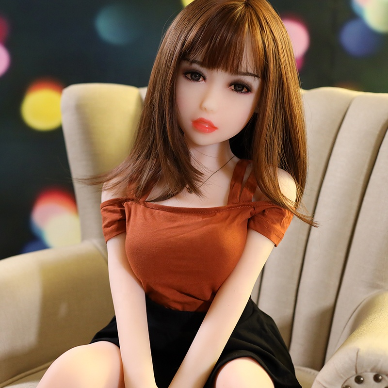 100cm TPE Realistic Touch Feeling Skin High Class Make-up Medium Breast 100cm Silicone Sexy Doll for Man Masturbator