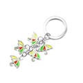 Free Design Gift for Her Personalized Zinc Alloy Keychain Premiums Mini Cute Key Ring Charms