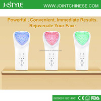 J-Style 3-IN-1Multifunction Home Use Galvanic Facial Machine Microcurrent LED Light Machine