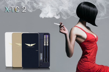 ECIG case wholesale Jinnuo/joecig X-TC 2 mini top filling vaporizer case kit