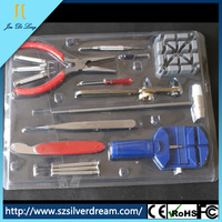 watch repair tool kit 16 in 1 piece watch repair tool China wholesale