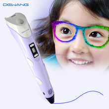 2016 3D PEN best selling products for kids, nozzle temperature below 70 celsius prevent burning your hands!