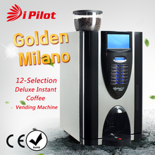 Deluxe Bean to Cup Coffee Machine (Golden Milano E3S)