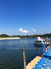 Plastic poly floating dock