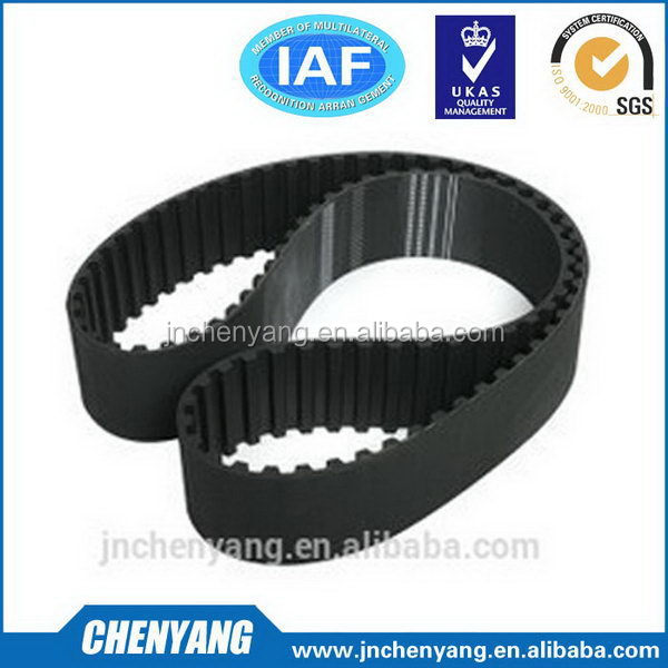 Fashionable professional rubber endless timing belt 168yu25