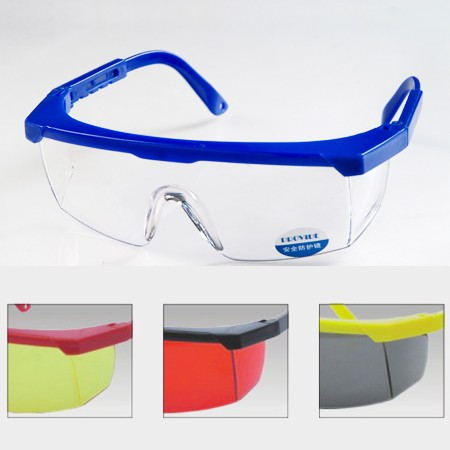 New Adjustable Shield Work Construction Goggles Protective Safety Glasses