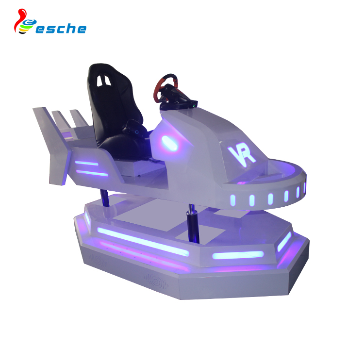 Amusement Simulator Racing Game Machine Simulator Driving 9D Vr Racing Car