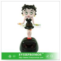Solar Power Motion Toy Betty Boop