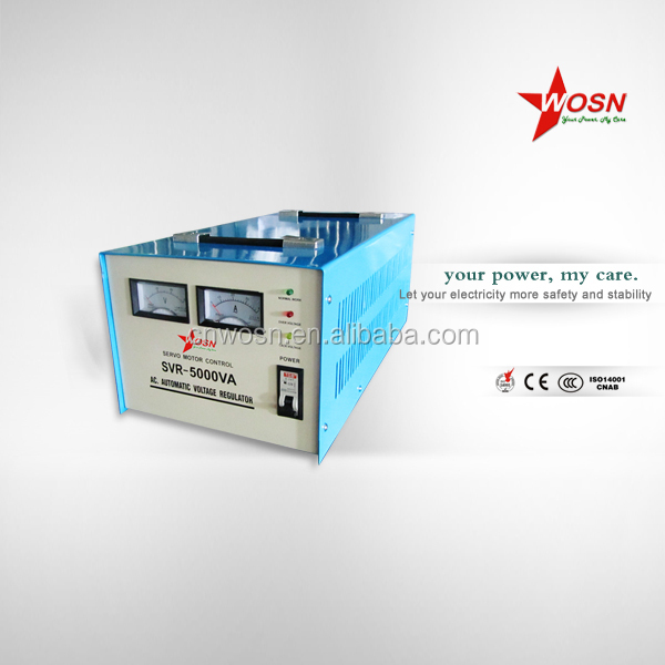 svc 5kw voltage regulator/automatic voltage stabilizer 5000w