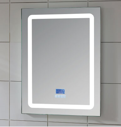 Decorative Wall Mount Illuminated Lighted LED Mirror for Bathroom