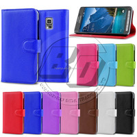 Stylish Litchi Wallet PU Flip Leather Case Cover For Samsung Galaxy S5 Active G870 With Credit Card Slots Holder Pouch Stand
