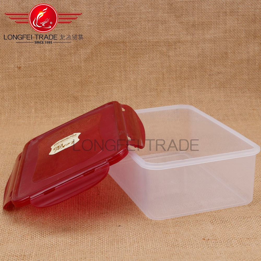 2016 Microwave Plastic Bento Lunch Box/frozen food/meal prep containers