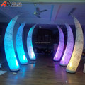 Lighting Inflatable Ivory with Rose for Entrance Decoration