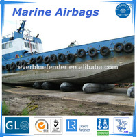High flexible salvage and ship launching type heavy lifting airbag/marine rubber airbags