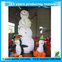 lovely christmas inflatables penguins