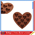 heart shape silicone ice cream mold, silicone ice maker, ice cube tray