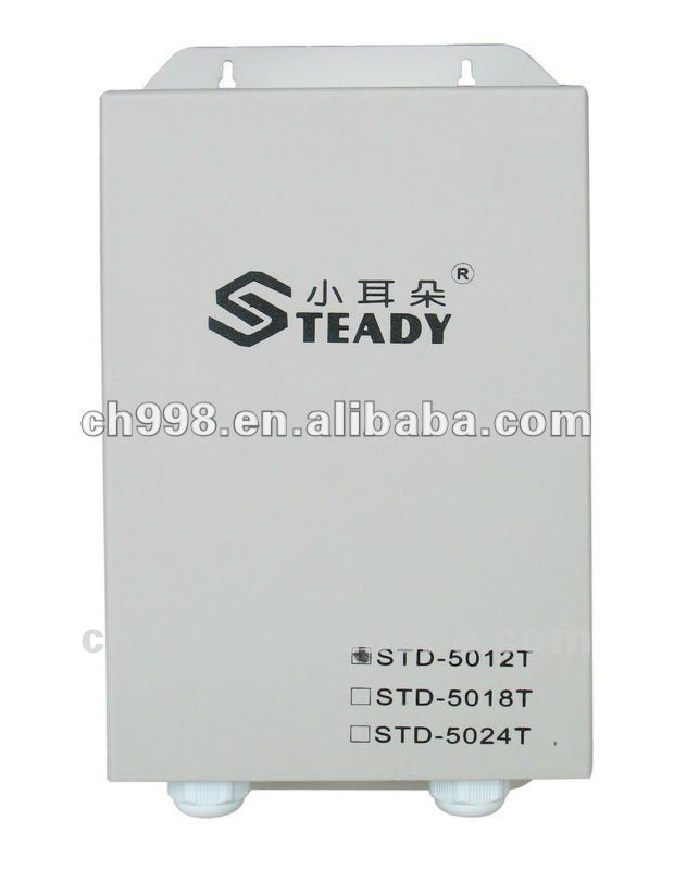 12VDC plastic enclosure for power supply
