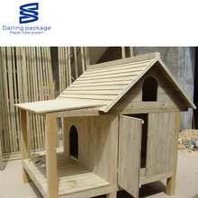 High Quality Deluxe Pet Dog Living Wooden Kennel