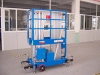 Portable vertical platform lift with 13.7m max working height