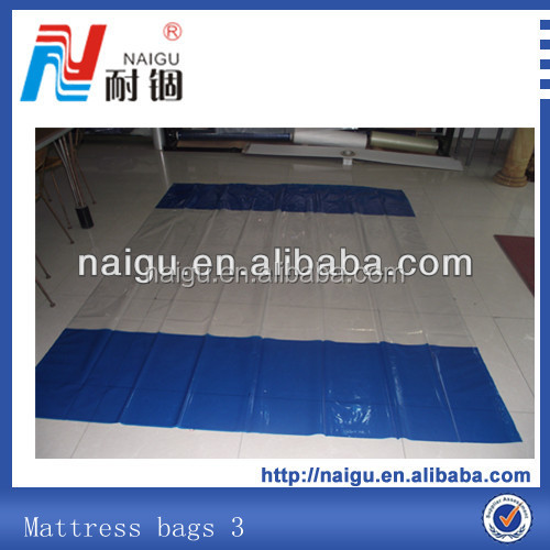 PE vacuum storage bag for queen mattress, plastic bag on roll