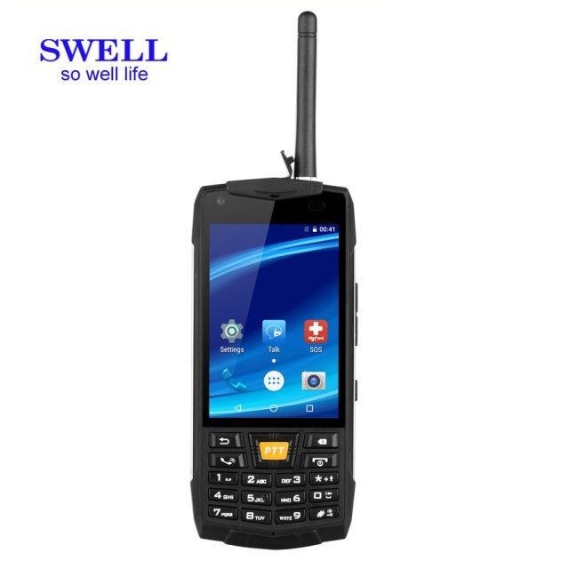 Factory feature Dual SIM 2.4 inch Rugged Mobile IP67 industrial rugged phone ip69