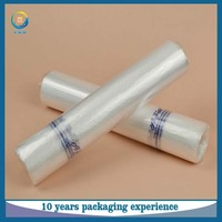 China supplier wholesale high quality supermarket LDPE plastic packing bag roll for vegetables and fruits