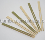 BBQ /fruit usage green color bamboo sticks