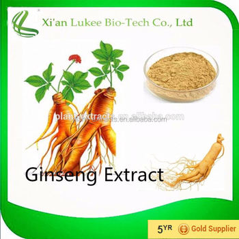 High quality Panax ginseng extract powder, Korean red ginseng extract, Ginsenoside 80%