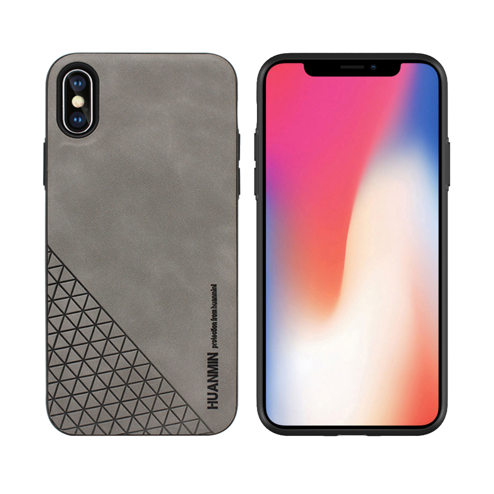 Newest Mobile Accessories For iPhone X Custom Skin Touch Leather Phone Case For <strong>Apple</strong>