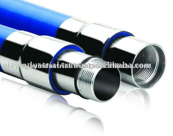 Coupling pvc pipe WITH STEEL STAINLESS