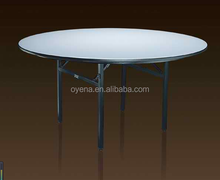 universal <strong>PVC</strong> round folding table for wedding ,party events