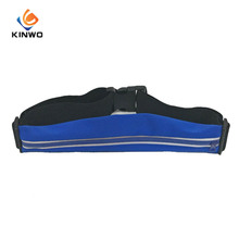Design Simple Lycra Sports Waist Bag Waterproof Running Bag And Elastic Belt