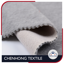 100% polyester two side brushed wool-like fabric for winter coat