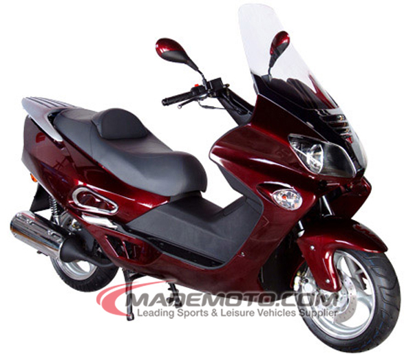 EPA DOT Approved Gas Motor Scooter Equipped with 4 Stoke 250cc Engine WZMS2506EPA