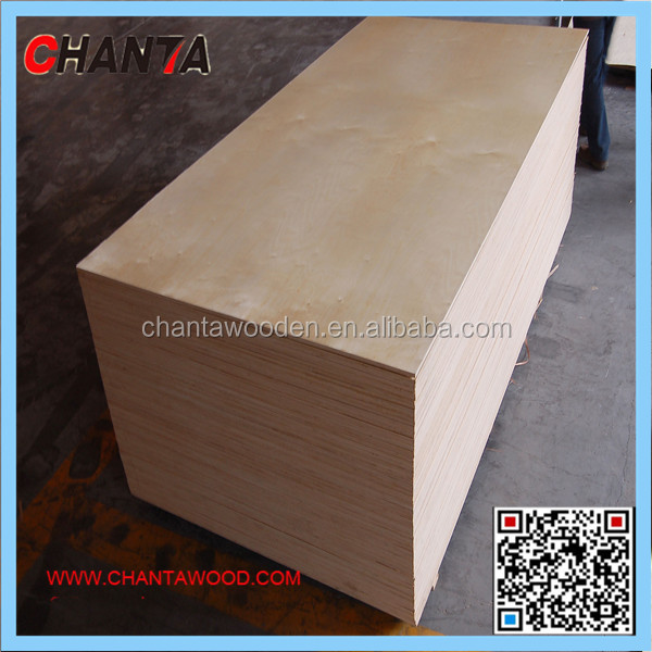 Canada Market Plywood 1220x2440mm Birch Plywood Sheets